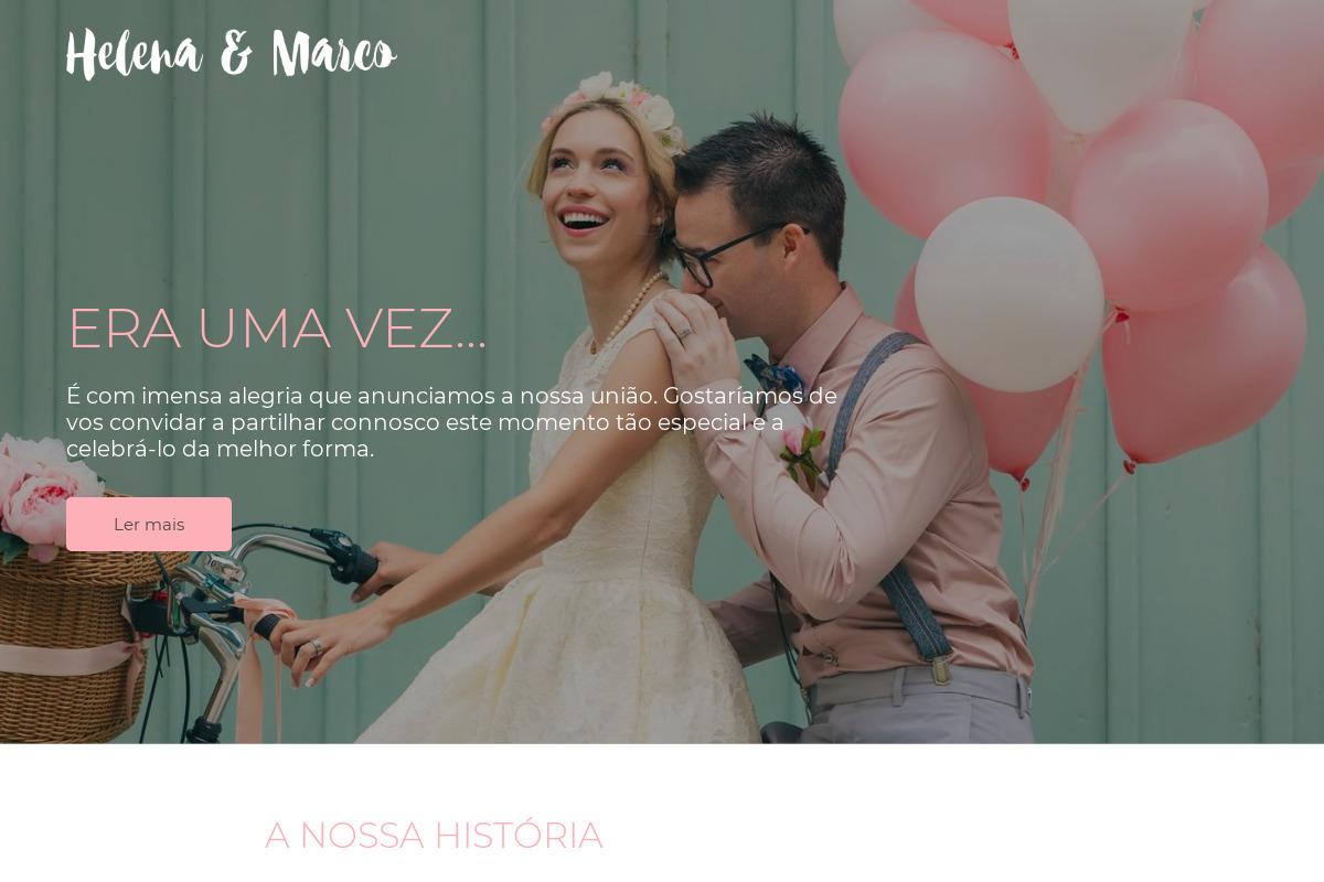 Apresentação do design: Casamento