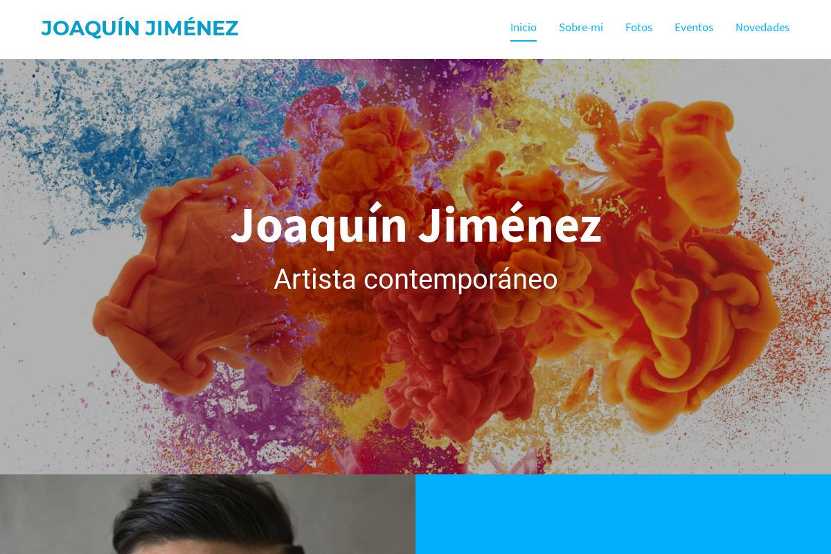 Presentación del diseño: Pintor