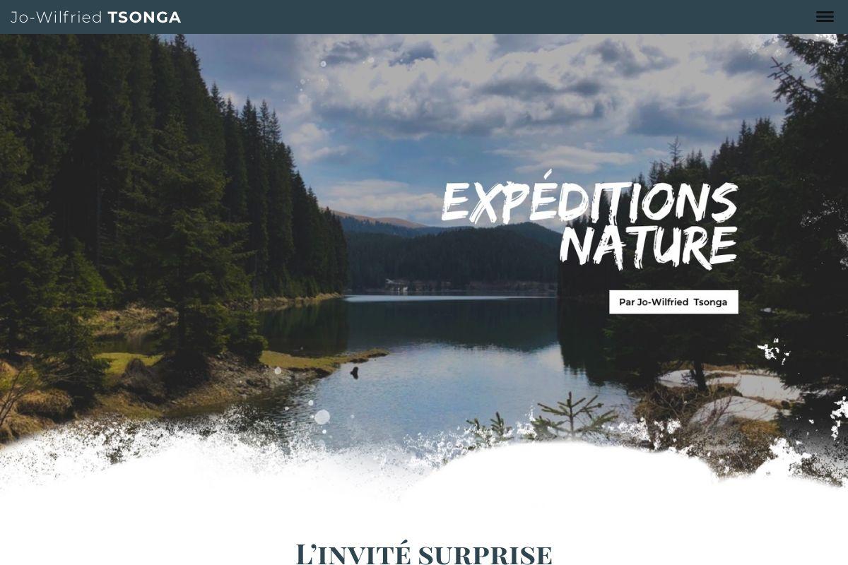 Modèle : Expéditions Nature