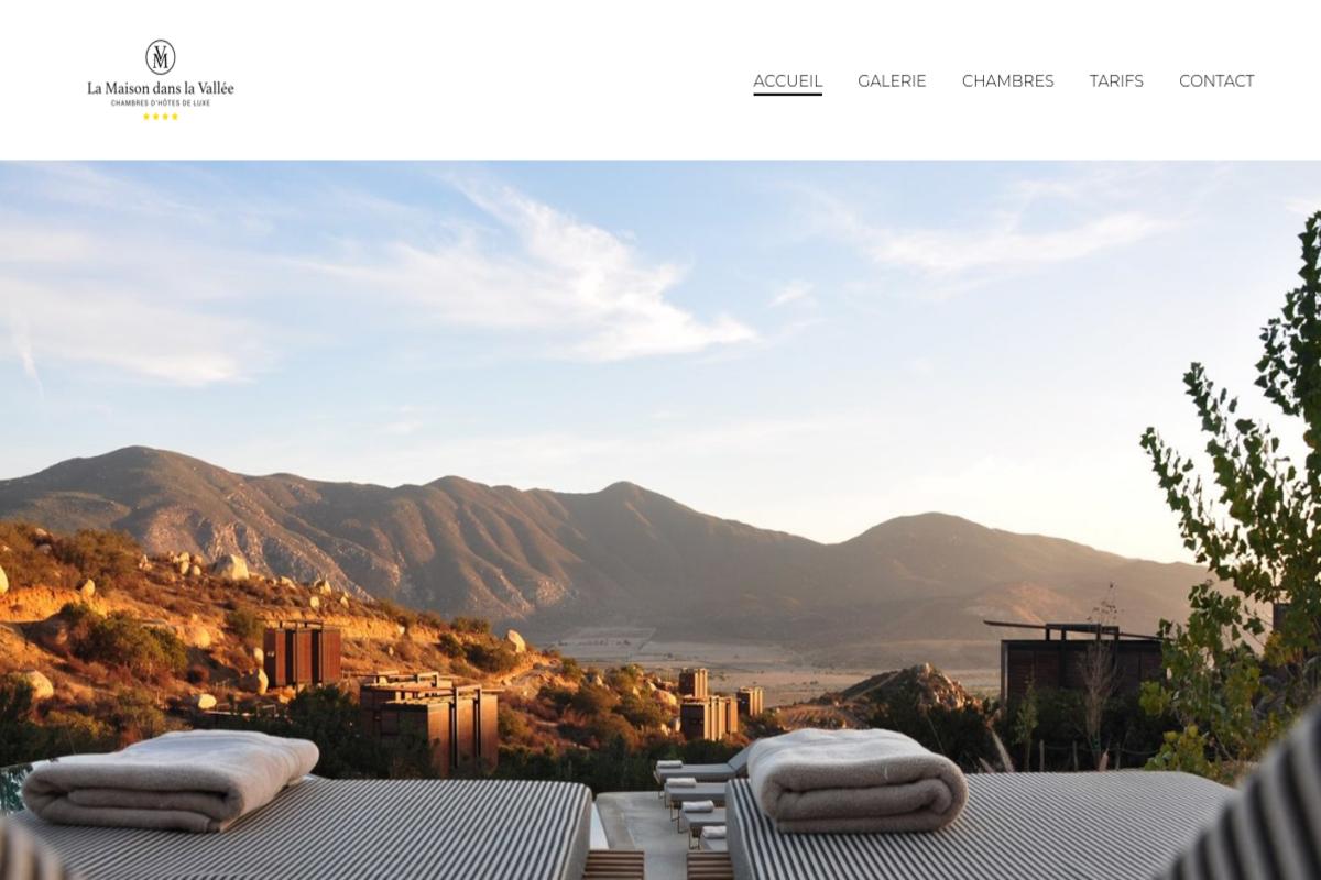 Présentation du design : Location — Maison d'hôtes