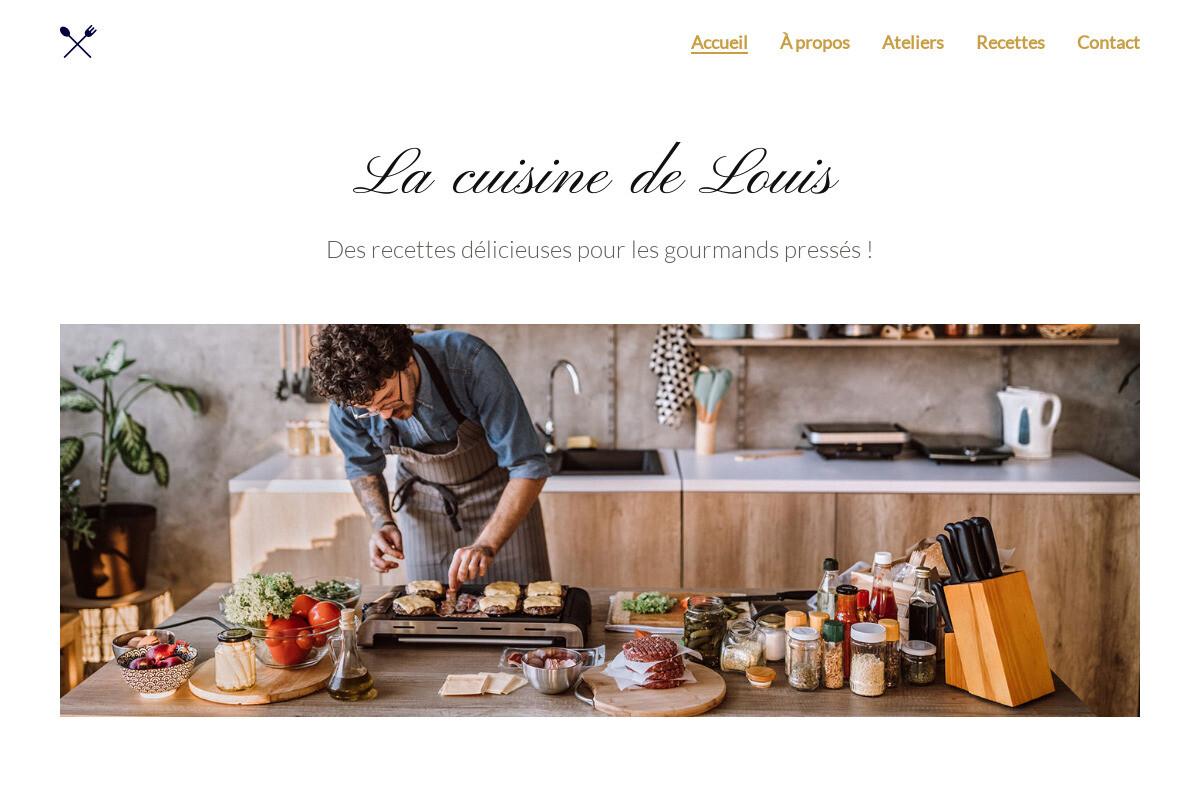 Présentation du design : La cuisine de Louis