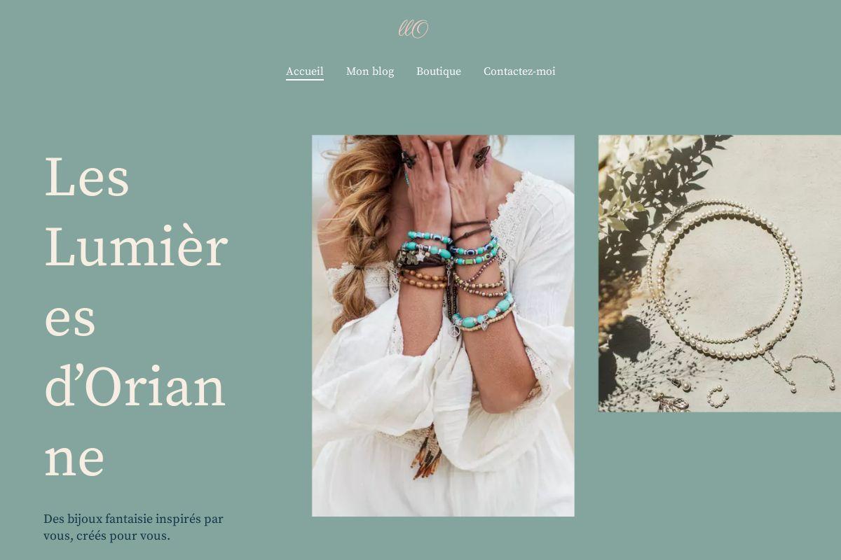 Présentation du design : Création de bijoux