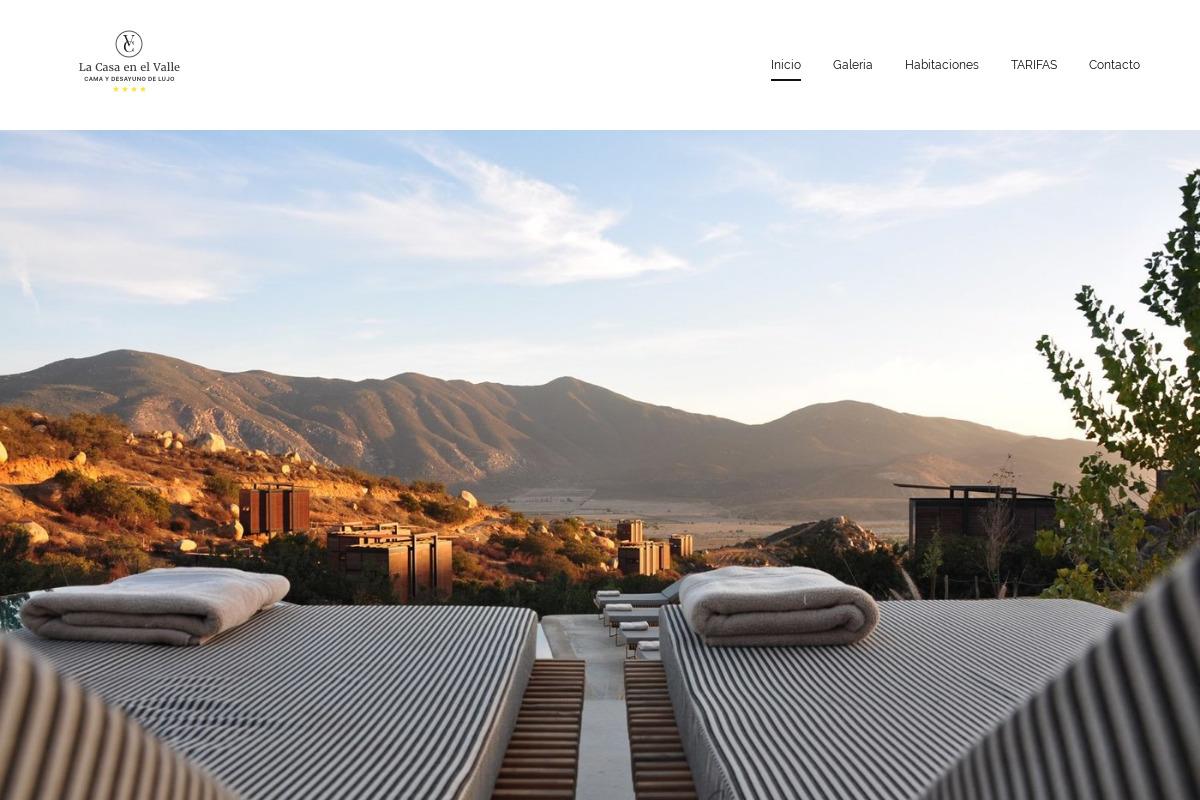 Presentación del diseño: Alojamiento turístico